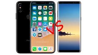 So sánh iPhone X vs Galaxy Note 8: Ai là ông hoàng???