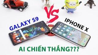 Galaxy S9 và iPhone X: Ai là người thắng cuộc?