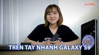 Trên tay nhanh Samsung Galaxy S9 đen huyền bí