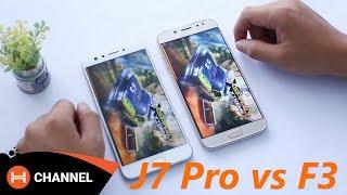 Galaxy J7 Pro ĐẠI CHIẾN Oppo F3: Kẻ 8 lạng người 8 trăm gram.