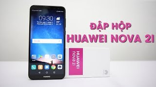 Đập hộp Huawei Nova 2i: Vô đối trong phân khúc.