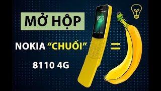 Mở hộp Nokia 8110: Quả chuối 4G, đồ chơi siêu độc cho dân công nghệ!!!