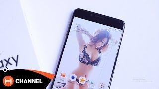 Đập hộp Galaxy C9 Pro phiên bản màu đen nhám đẹp cực.