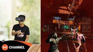 Trải nghiệm Gear VR 2017: Chơi game đã, nhiều nâng cấp.