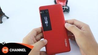 Trên tay Meizu Pro 7 đỏ: độc đáo với màn hình phụ 2'', cam kép...