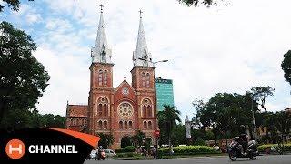6 Địa danh nổi tiếng nhất Sài Gòn qua camera Sony Xperia XZ Premium.