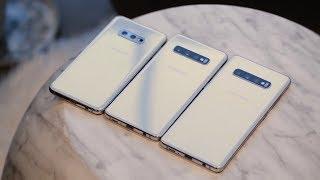 Tóm tắt nhanh 4 phiên bản Galaxy S10, S10+, S10e và S10 5G