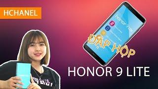 Mở hộp Honor 9 Lite: màn hình 18:9, 4 camera giá chỉ 4.3 triệu đồng