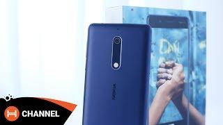 Đập hộp hàng hot Nokia 5: Hoàn thiện tốt trong tầm giá.
