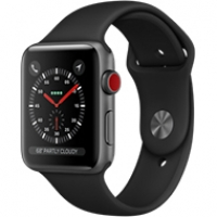 Apple Watch Series 3 Cellular 42mm Gray Aluminum Case- MQK22