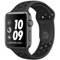 Apple Watch Series 3 42mm Black Nike Sport Band MQL42 97% ( 776 CMT8 )