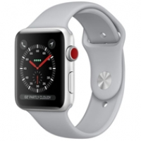 Apple Watch Series 3 Cellular 38mm Silver Aluminum Case - MQJN2