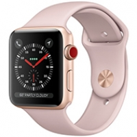 Apple Watch Series 3 Cellular 38mm Gold Aluminum Case - MQJQ2 (Trôi bảo hành , chưa Active )