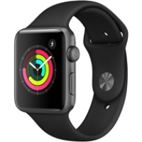 Apple Watch S3 Gray Aluminium MQL12 99%