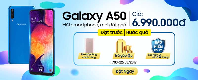 Rước Quà TO cùng Galaxy A50