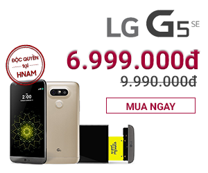 LG G5: GIẢM 30%