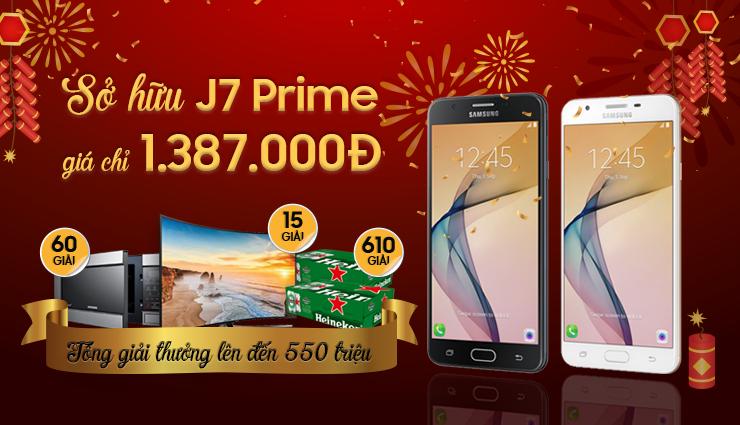 J7 Prime chỉ 1.38 triệu