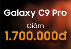 Galaxy C9 Pro RAM 6GB: giảm 1.7 triệu