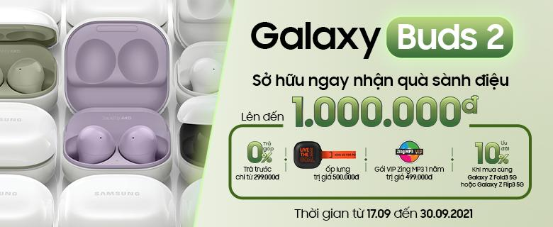 Galaxy Buds2 Quà Đến 1.000.000đ
