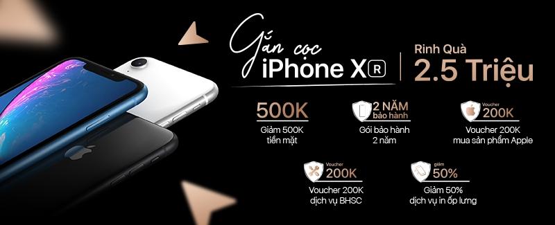 Rinh Quà 2.5 Triệu cùng iPhone Xr