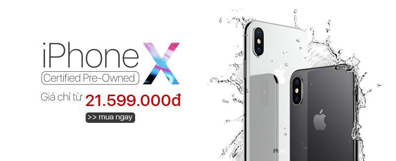 iPhone X CPO CHỈ TỪ 21.599.000đ