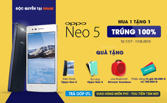 Top_Oppo Neo 5
