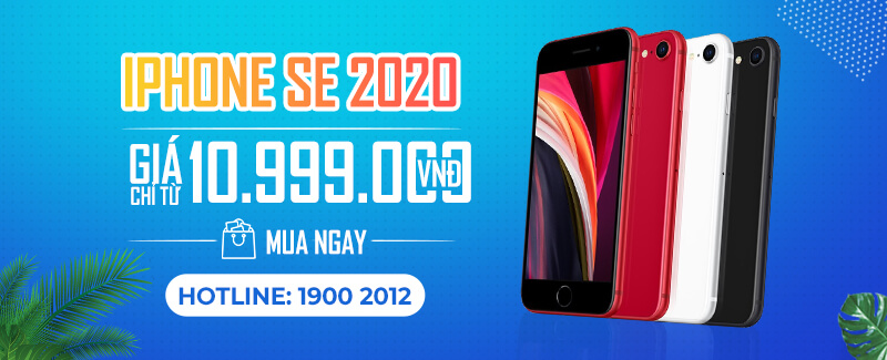 Mua ngay iPhone SE 2020