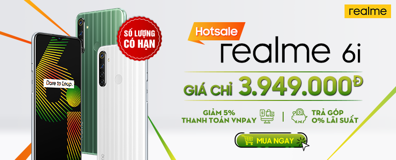 Hotsale - Realme 6i - Số lượng có hạn