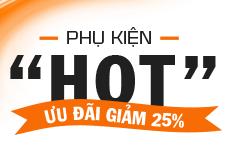 Giảm 25%: Phụ kiện Aukey, Energizer