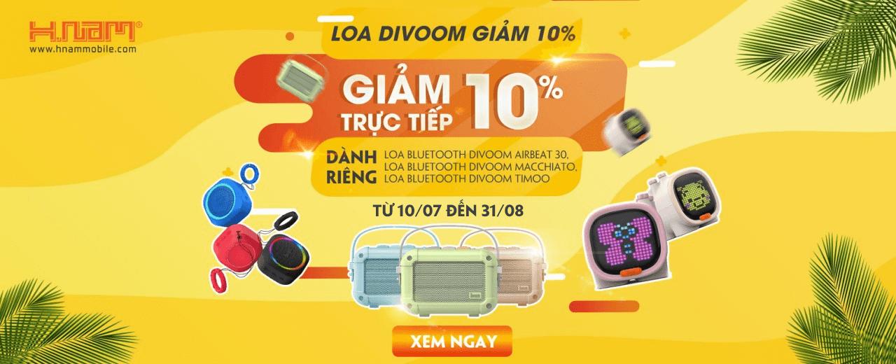 LOA DIVOOM GIẢM 10%