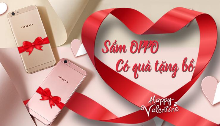 Sắm OPPO - có quà tặng Bồ