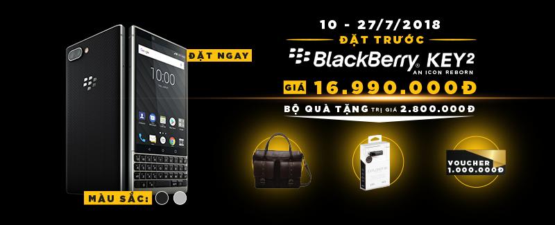 Đặt Trước BlackBerry KEY2