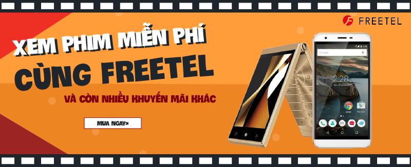 Freetel: Giá tốt + tặng vé xem phim