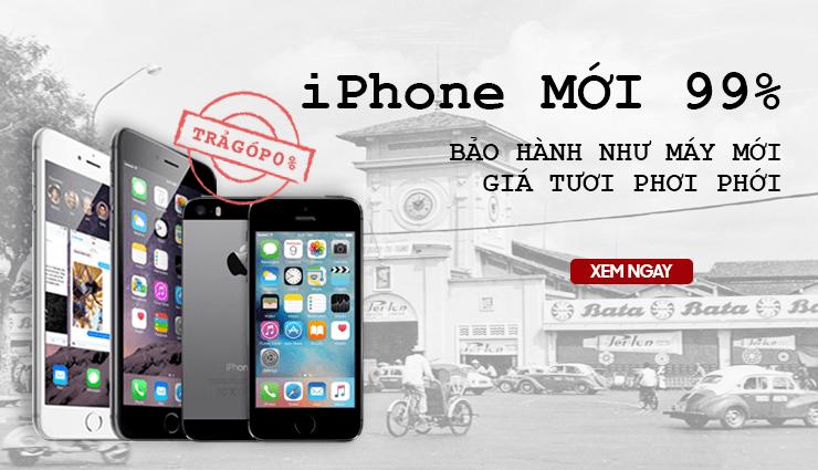 iPhone mới 99% siêu rẻ