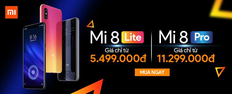 Xiaomi Mi 8 Giá Chỉ Từ 5.499.000đ