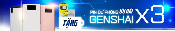 Mua Pin dự phòng Genshai ưa đãi x 3