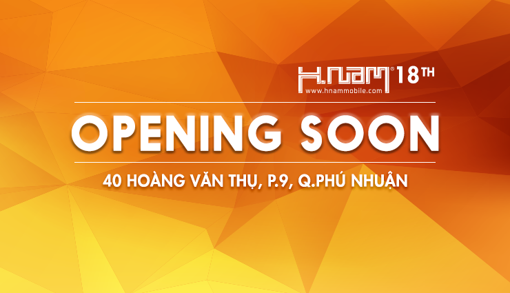 Hnam 18th OPENING SOON