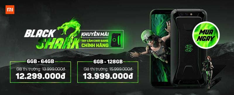 Xiaomi Black Shark Về Hàng Quà Tặng Hấp Dẫn