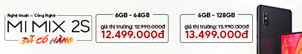Xiaomi Mi Mix 2S Đã Có Hàng