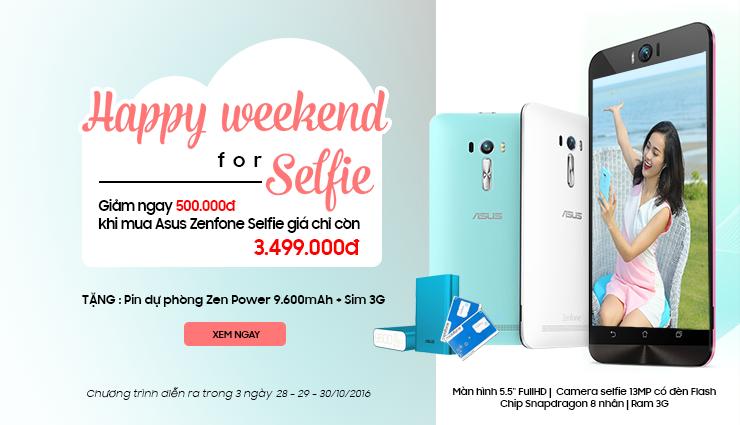 Zenfone selfie giá shock