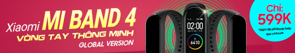 Chỉ 599k - Sở hữu Xiaomi Miband 4