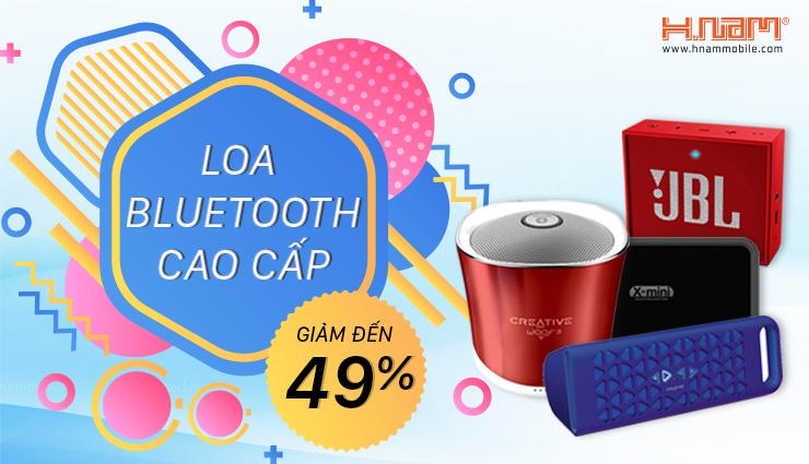 Loa bluetooth: Giảm đến 49%