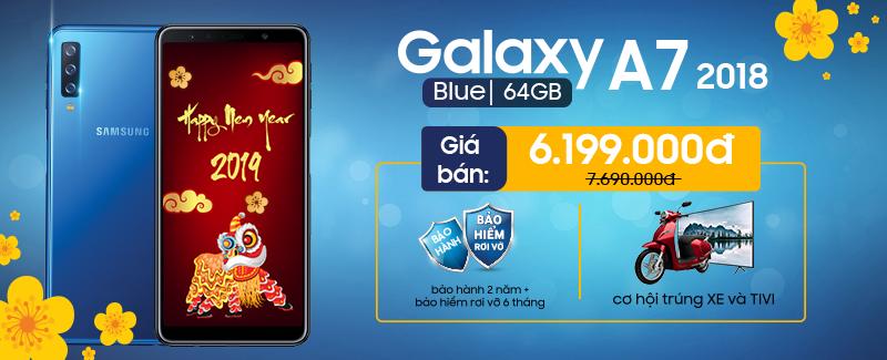 Galaxy A7 GIÁ SIÊU HỜI, QUÀ SIÊU SỐC