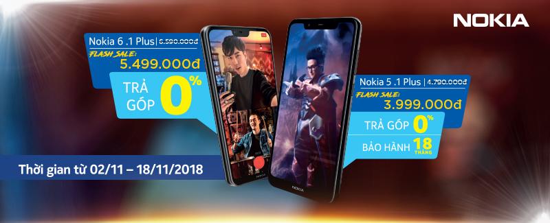 Flash Sale Nokia Giá Cực Hời
