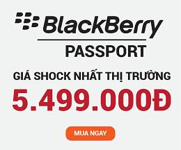 Blackberry Passport Quốc tế