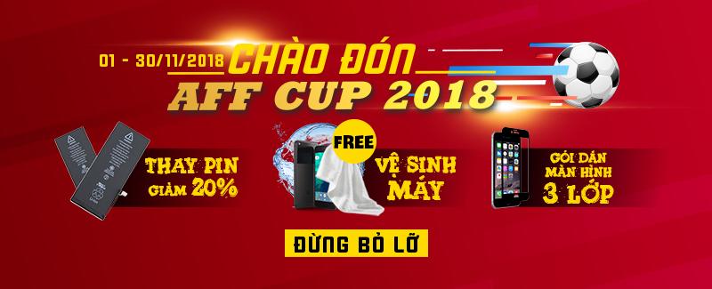 Bảo Trì Dế Yêu Cùng AFF cup 2018