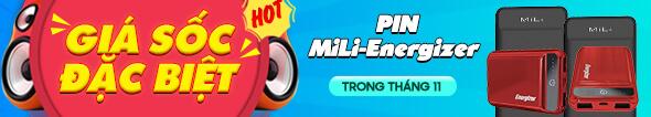 Pin MiLi-Energizer giảm giá cực sốc