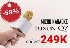 Micro kiêm loa bluetooth siêu rẻ: chỉ 249k