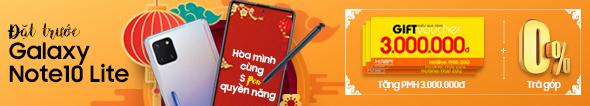 Đặt trước Galaxy Note10 Lite - Rinh quà lên đến 3 Triệu