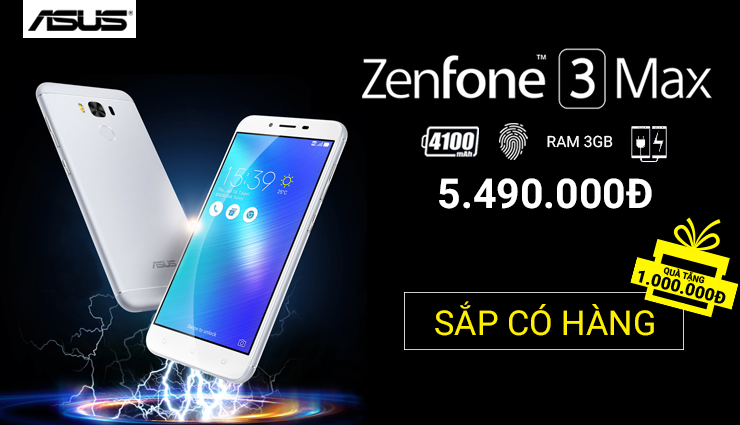 Zenfone 3 max sắp có rồi!